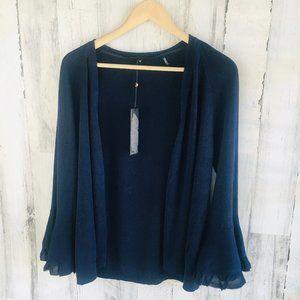 Kobi Halperin Jade Sweater Linen Blend Cardigan